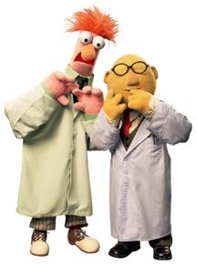 Beaker und Dr. Bunsen
